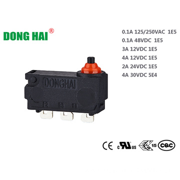 Sealed  Subminiature Micro Door Locking Switch